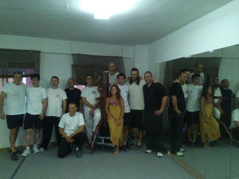 Grupo de la Escuela Wing Tsun Taows Valencia