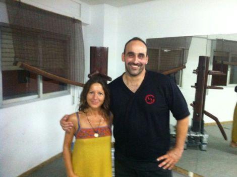 Con Sergio Verdeguer, Instructor formador del grupo